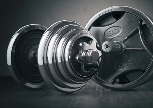 Functional Workout using only a Weight Plate 12